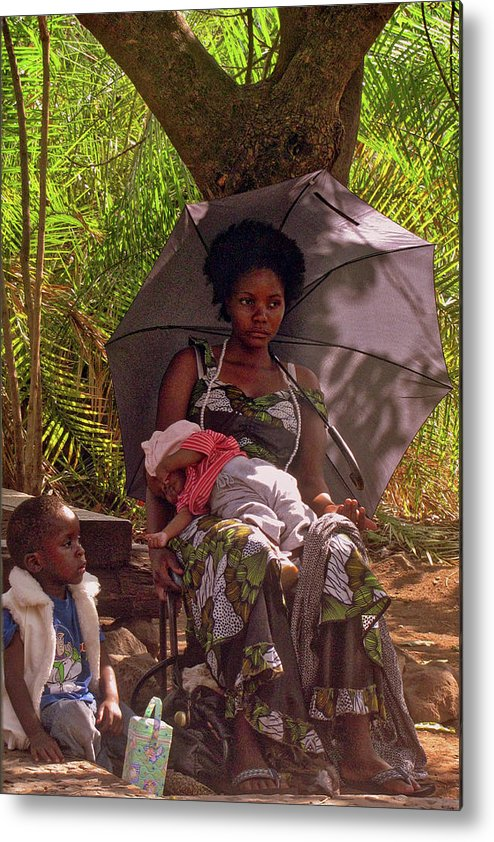 Zambia Metal Print featuring the photograph Zambia by Paul James Bannerman