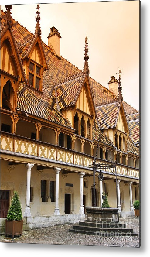 Beaune Metal Print featuring the photograph Beaune by LS Photography