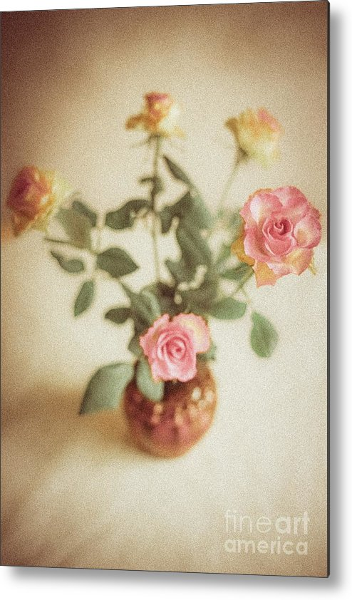 Roses Metal Print featuring the photograph A Bouquet Of Roses by Lil Kin