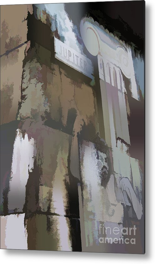 Abstract Metal Print featuring the photograph Abstract No. Ten by Tom Griffithe
