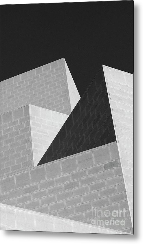 Abstract Metal Print featuring the photograph Abstract Walls by Marcus Lindstrom