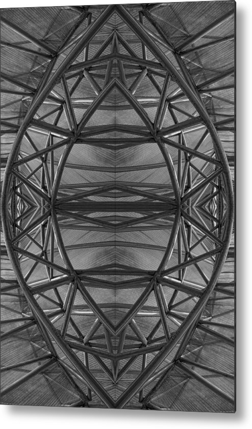 Abstract Metal Print featuring the digital art Abstraction 2 by Robert Ullmann