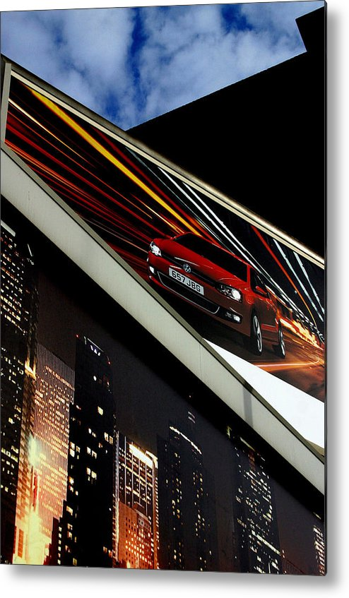 Jez C Self Metal Print featuring the photograph Advertising World by Jez C Self