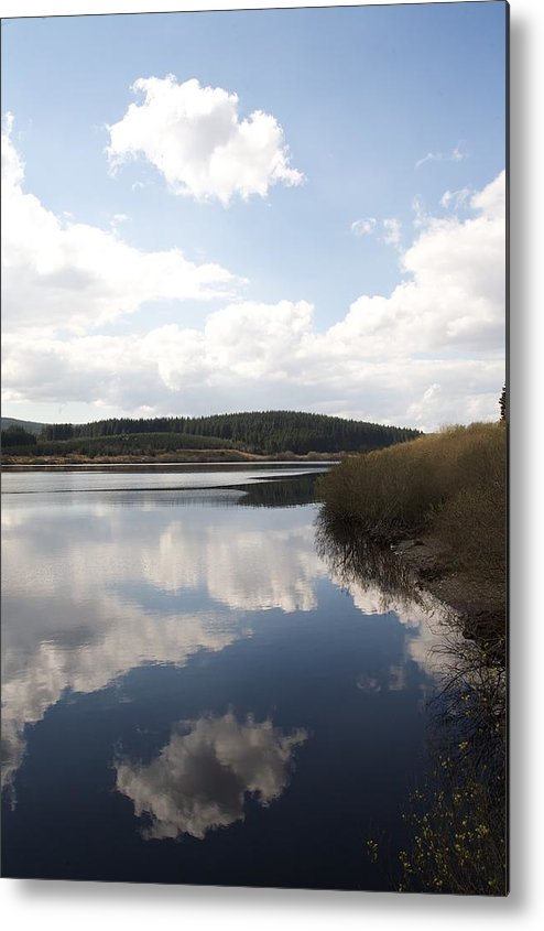 Reservoirs Metal Print featuring the photograph Alwen Reservoir by Christopher Rowlands
