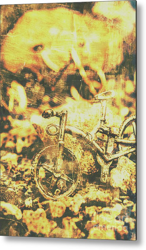 Bicycle Metal Print featuring the photograph Art Of Mountain Biking by Jorgo Photography - Wall Art Gallery