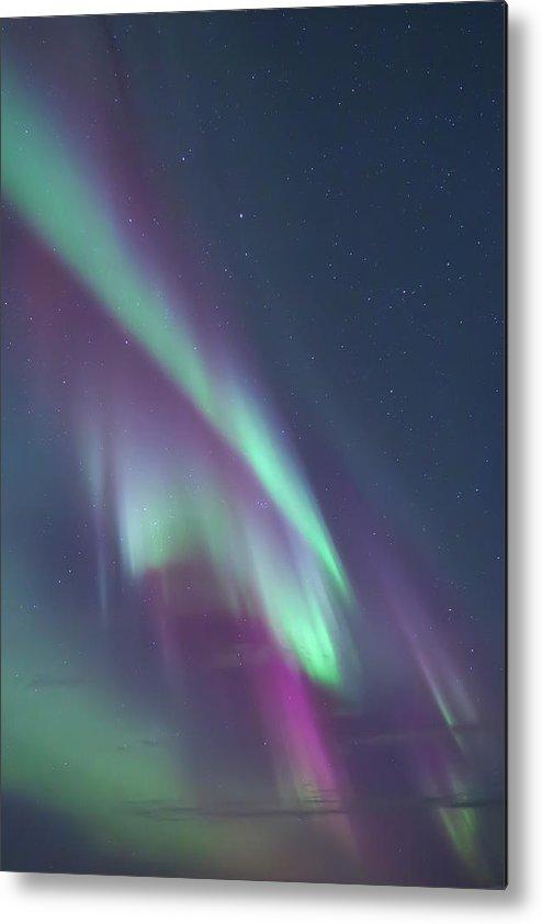 Aurora Metal Print featuring the photograph Aurora Norway by Arild Lilleboe