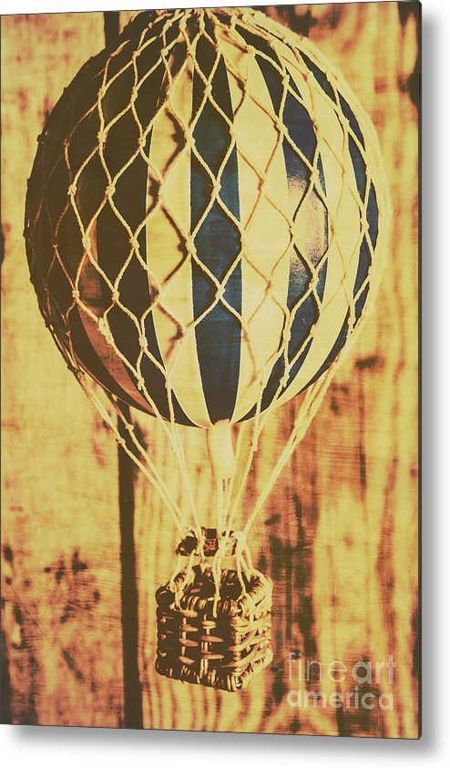 Nostalgia Metal Print featuring the photograph Aviation Nostalgia by Jorgo Photography - Wall Art Gallery