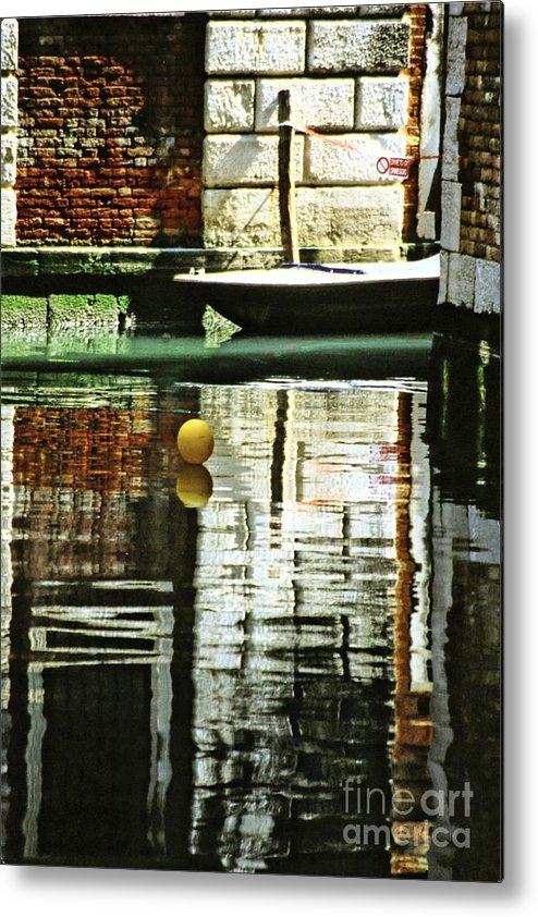 Venice Metal Print featuring the photograph Ball On A Canal In Venice by Michael Henderson