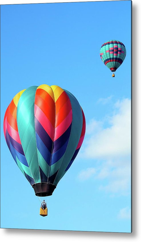 Ballons Metal Print featuring the photograph Balloons by Linda Cupps