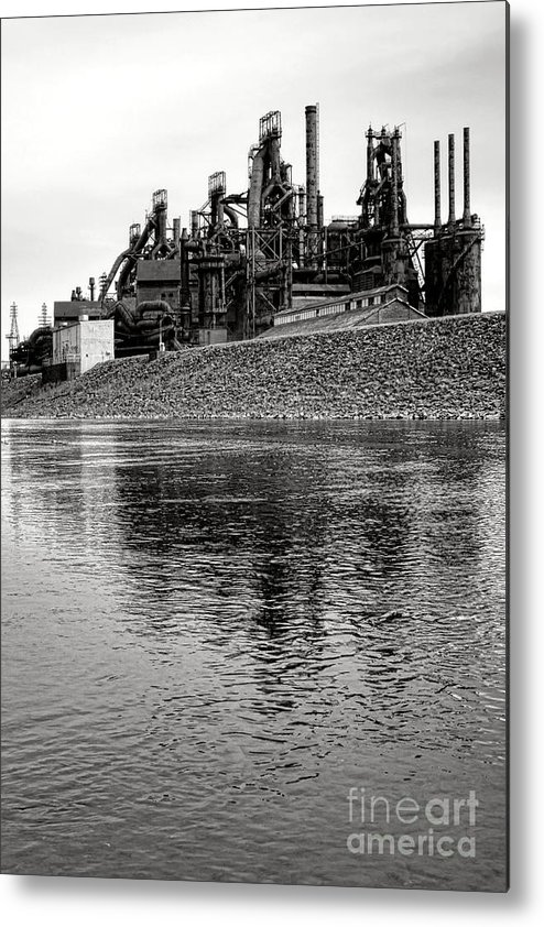 Bethlehem Metal Print featuring the photograph Bethlehem On The Lehigh by Olivier Le Queinec