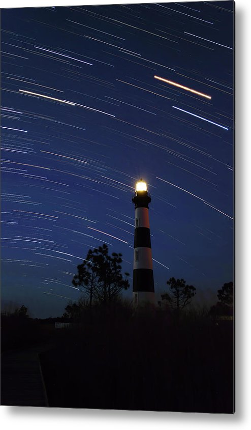 Metal Print featuring the photograph Bodie Lighthouse by Hwy12Commute