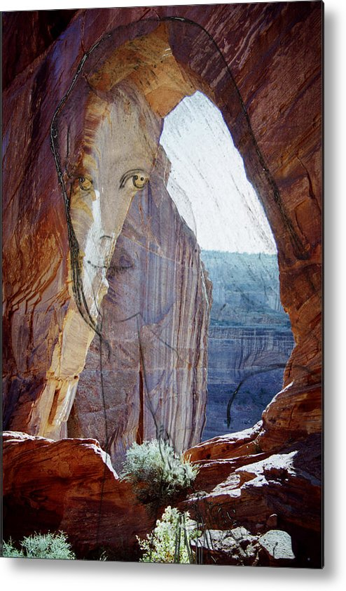 Canyon De Chelly Metal Print featuring the photograph Canyon De Chelly Spirit by Richard Henne