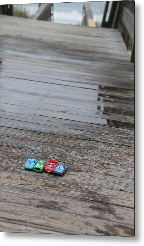 Cars Metal Print featuring the photograph Cars by Kami Gauvey