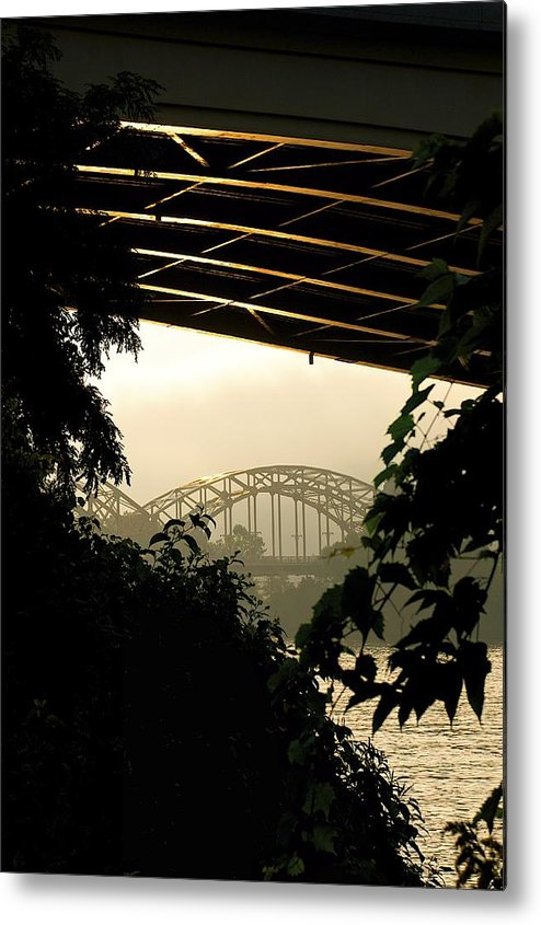 Portfolio Metal Print featuring the photograph CC by James Henderson
