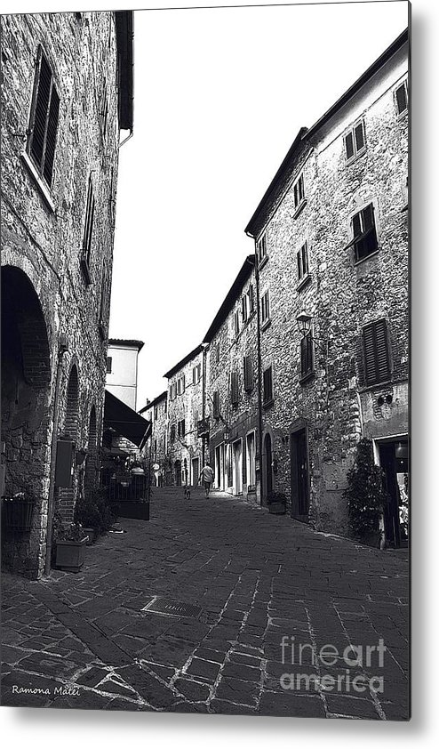 Tuscany Metal Print featuring the photograph Chilling Out In Tuscany by Ramona Matei
