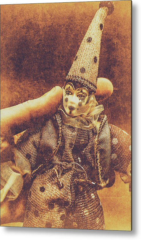 Puppet Metal Print featuring the photograph Circus Puppeteer by Jorgo Photography - Wall Art Gallery