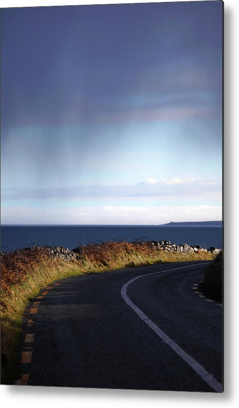Atlantic Ocean Metal Print featuring the photograph Coast Road The Burren by Tom Doherty