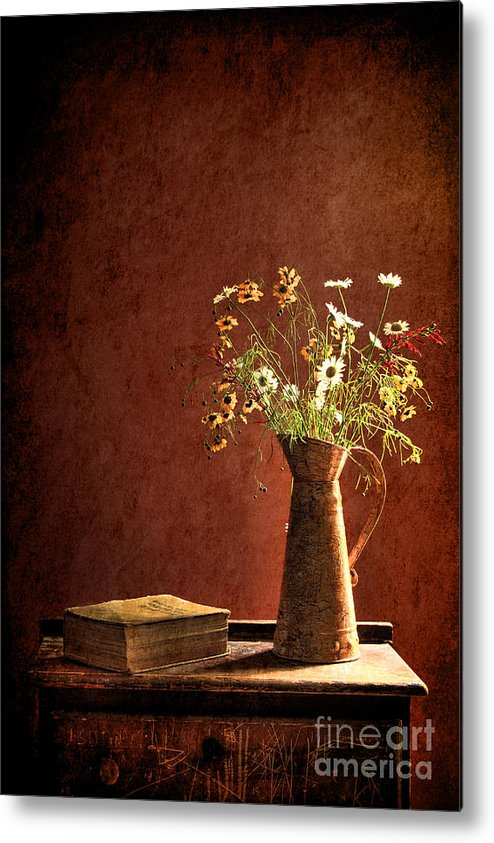 Still Life Metal Print featuring the photograph Color Wild Garden by Sari Sauls