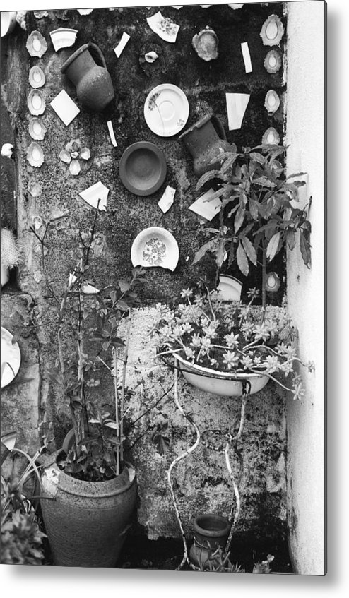 Garden Metal Print featuring the photograph Corner Garden - Sao Miguel - Azores by Henry Krauzyk