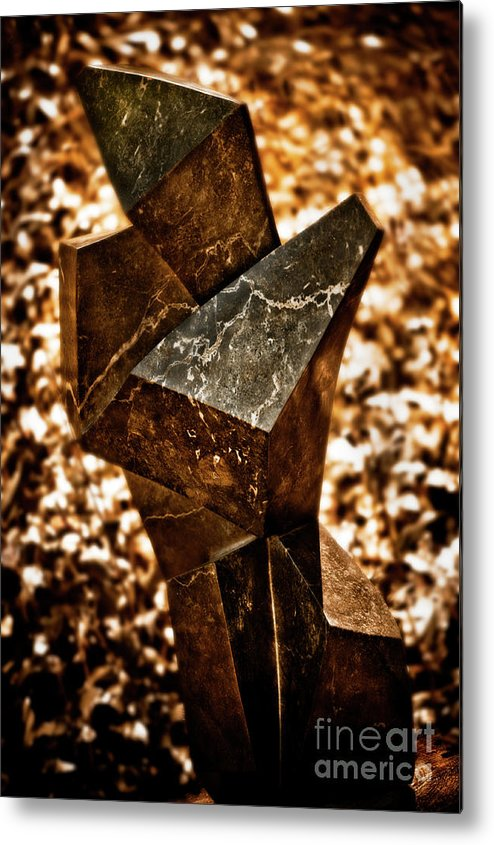 Art Metal Print featuring the photograph Cubic by Venetta Archer