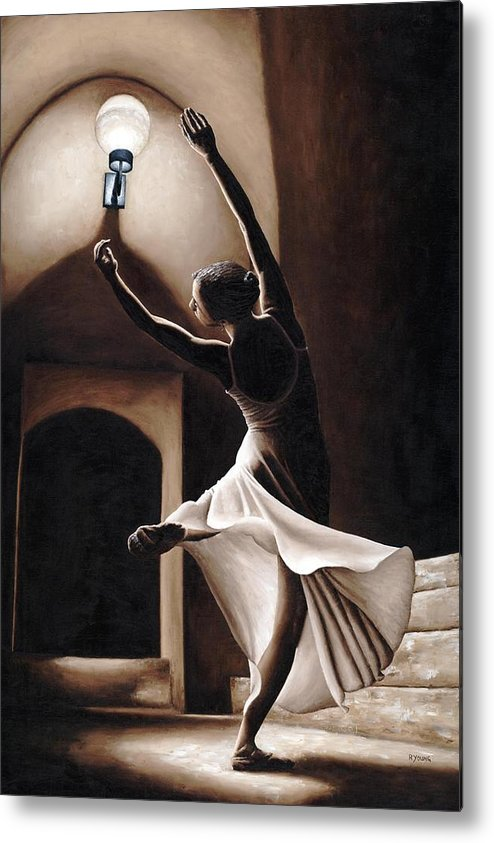 Dance Metal Print featuring the painting Dance Seclusion by Richard Young