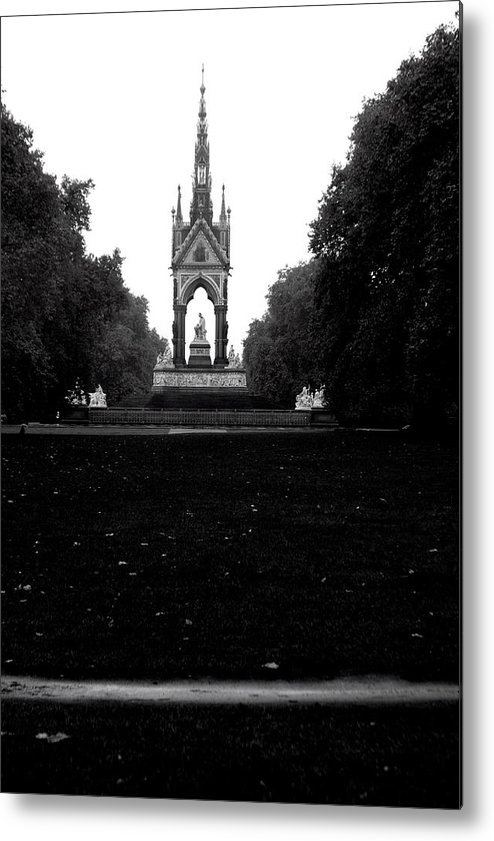Jez C Self Metal Print featuring the photograph Dark Memorial by Jez C Self