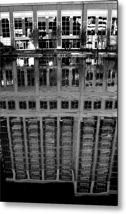 Reflection Metal Print featuring the photograph Dark Reflection by Tim Wilson