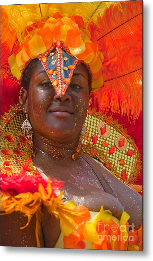 Festival Metal Print featuring the photograph Dc Caribbean Carnival No 24 by Irene Abdou