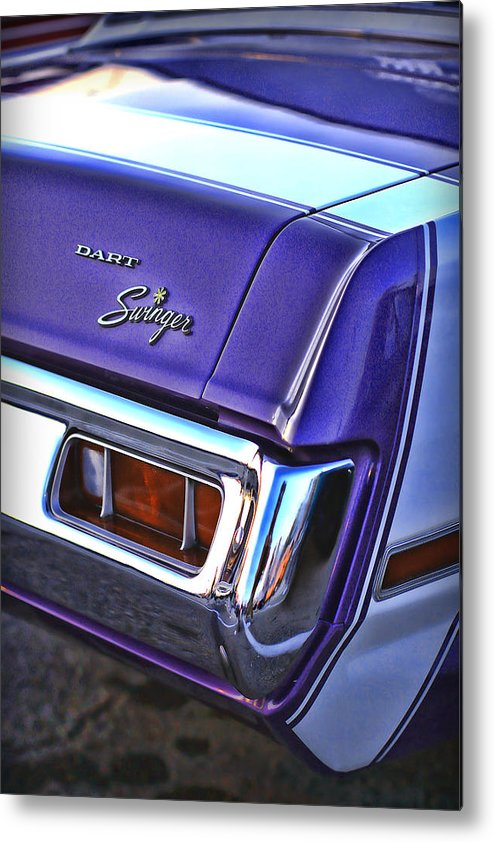 Dodge Metal Print featuring the photograph Dodge Dart Swinger by Gordon Dean II