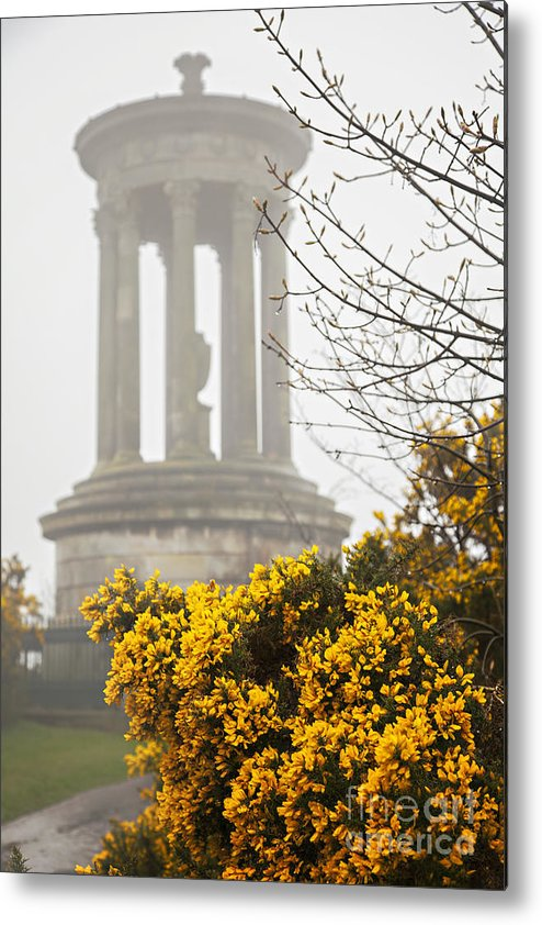 Monument Metal Print featuring the photograph Dugald Stewart Monument by Sophie McAulay