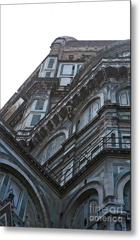 Architecture Metal Print featuring the photograph Duomo In Florence by Nadine Rippelmeyer