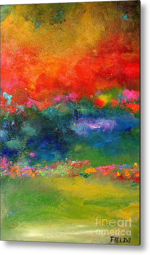 Bold Metal Print featuring the painting Faith by Karen Fields