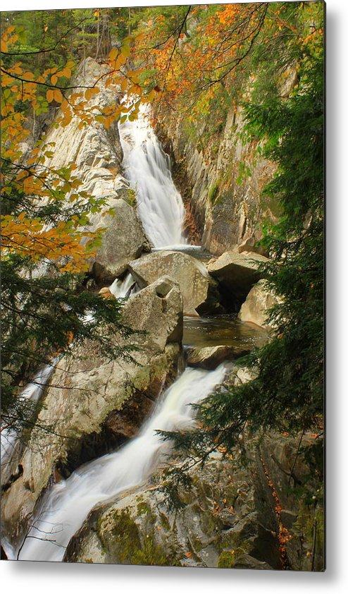 Waterfall Metal Print featuring the photograph Falls Of Lana by John Burk