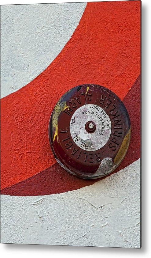 Fire Alarm Metal Print featuring the photograph Fire Alarm by Robert Ullmann