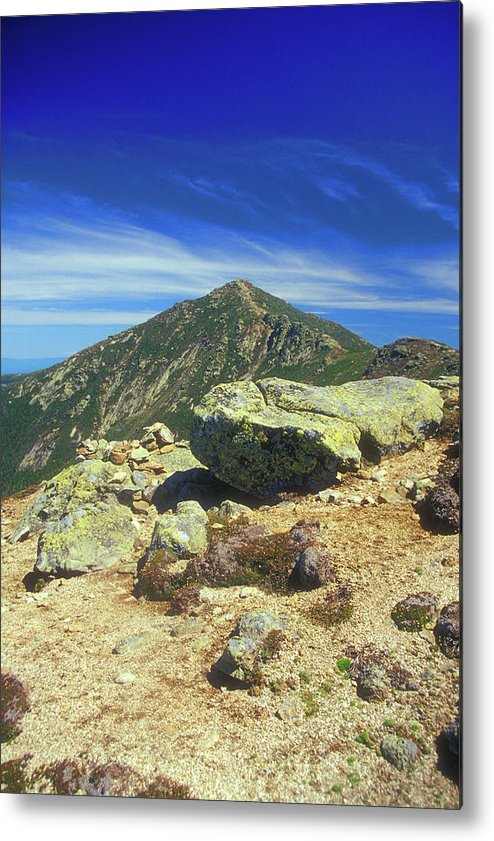 New Hampshire Metal Print featuring the photograph Franconia Ridge And Mount Lafayette Alpine by John Burk