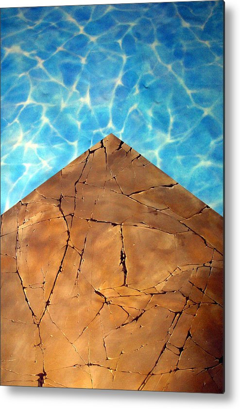 Jez C Self Metal Print featuring the photograph From The Earth Unto The Sea by Jez C Self