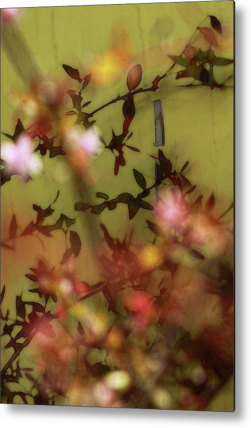 Floral Metal Print featuring the photograph Get Glowing by Amy Neal