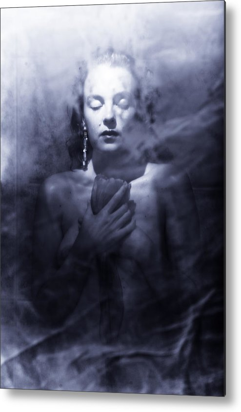 Woman Metal Print featuring the photograph Ghost Woman by Scott Sawyer