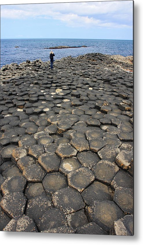 Giant Metal Print featuring the photograph Giant Causeway Northern Ireland by Pierre Leclerc Photography