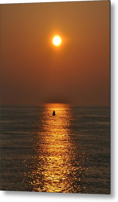 Sunrise Metal Print featuring the photograph Golden Sun by Bill Cannon