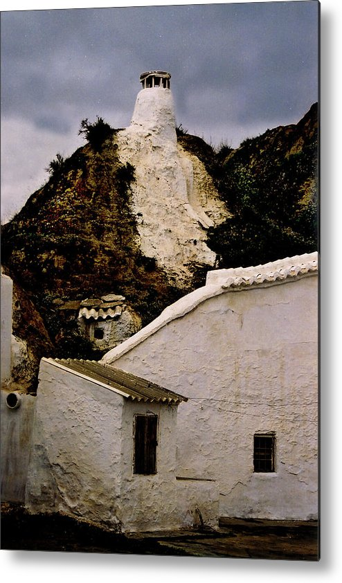 Spain Metal Print featuring the photograph Guadix by Rianna Stackhouse