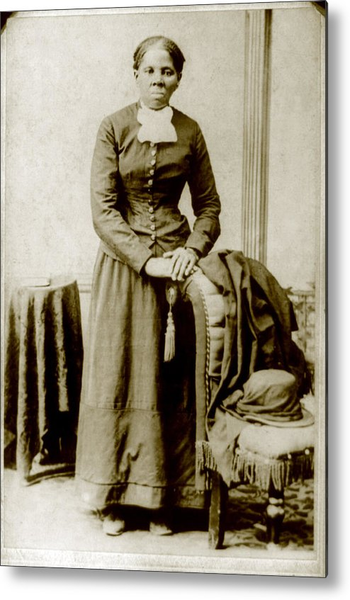 19th Century Metal Print featuring the photograph Harriet Tubman, Ca. 1860-75 by Everett