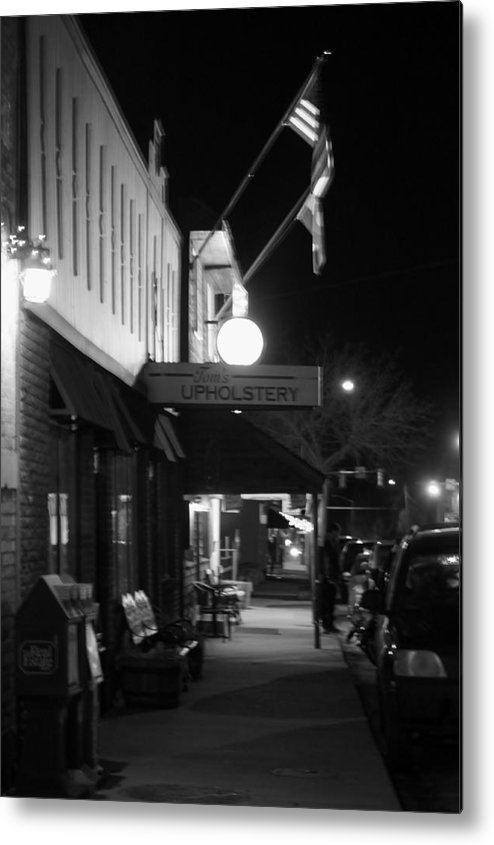 Bar Metal Print featuring the photograph Holiday Time In Morrison Co by Rhonda DePalma