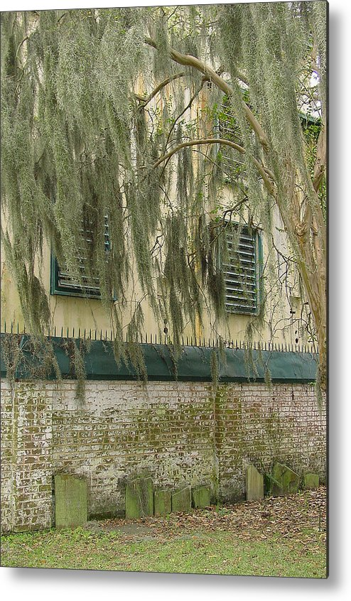 Cemetery Metal Print featuring the photograph In Memory Of by Suzanne Gaff