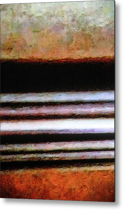 Abstract Metal Print featuring the photograph Isaiah's Highway by Donna Fonseca Newton