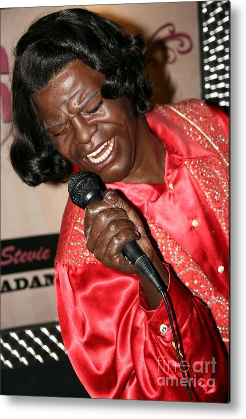 James Brown Metal Print featuring the photograph James Brown by Sophie Vigneault