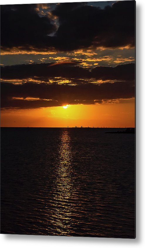 Sunset Metal Print featuring the photograph Key West Sunset 29 by Bob Slitzan
