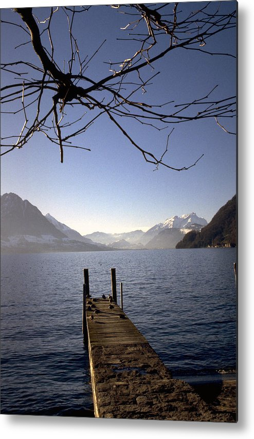 Lake Lucerne Metal Print featuring the photograph Lake Lucerne by Flavia Westerwelle
