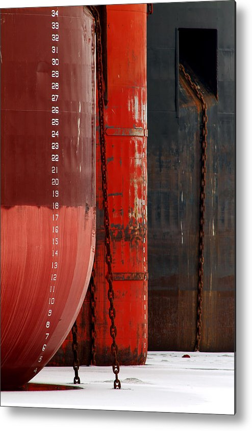 Photographs Metal Print featuring the photograph Lay-up Number 2 by Richard Steinberger