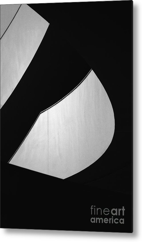 Abstract Metal Print featuring the photograph Light And Dark by Hideaki Sakurai